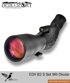 Spektiv DDoptics EDX 82 S Set mit Okular