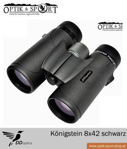 DDoptics Königstein 8x42 schwarz