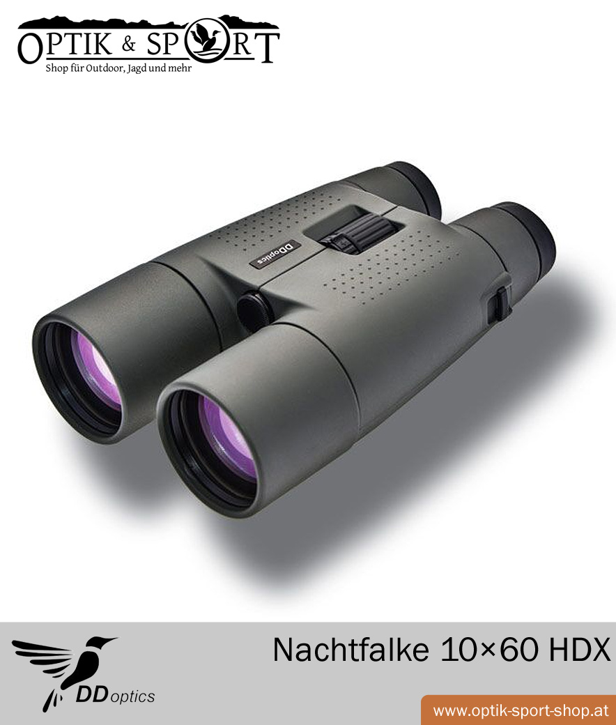 Fernglas DDoptics Nachtfalke 10×60 HDX