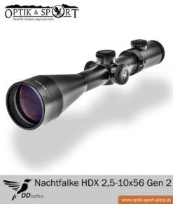 Zielfernrohr DDoptics Nachtfalke HDX 2,5-10×56 Gen 2