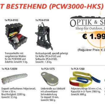 Jägerset Portable Winch PCW 3000 mit Zubehör
