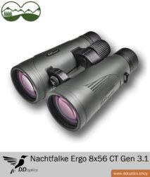 DDoptics Fernglas 8x56 Nachtfalke ERGO CT Gen. 3 .1
