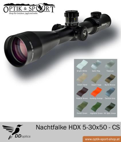DDoptics Nachtfalke HDX 5-30x50 Custom Style