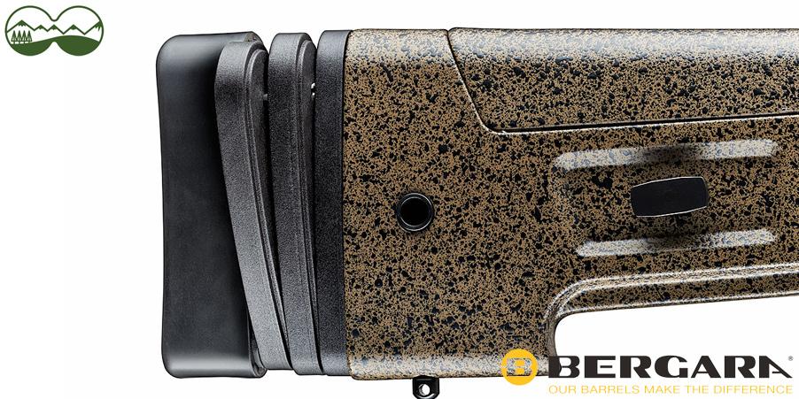 Bergara B14 HMR Büchse - variable Schaftverlängerung
