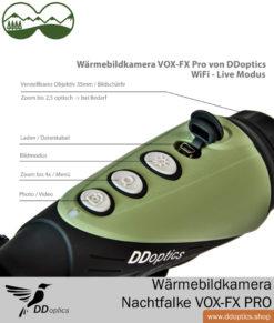 DDoptics Wärmebildkamera Nachtfalke VOX-FX PRO