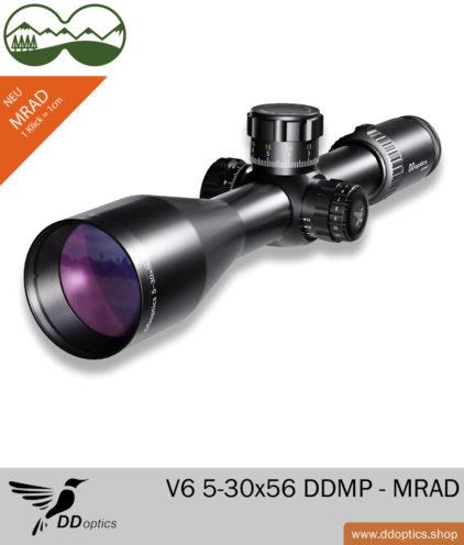 DDoptics V6 Zielfernrohr 5-30x56 DDMP - MRAD