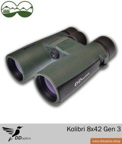 DDoptics Fernglas Kolibri 8x42 Generation 3