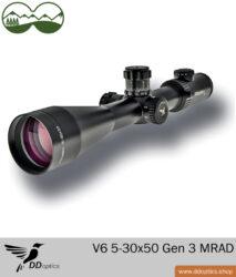 DDoptics V6 5-30x50 MRAD Zielfernrohr Gen 3