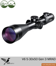 Zielfernrohr 5-30x50 Nachtfalke | V6 | A4N | MRAD Verstellung - Gen 3 - DDoptics
