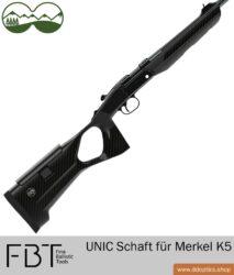 UNIC Carbon Schaft für Merkel K5 von FBT Fine Ballistic Tools