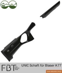 Blaser K77 UNIC Carbon Schaft von FBT